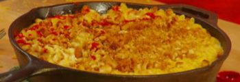 Pasta with Cheese and Sweetcorn
